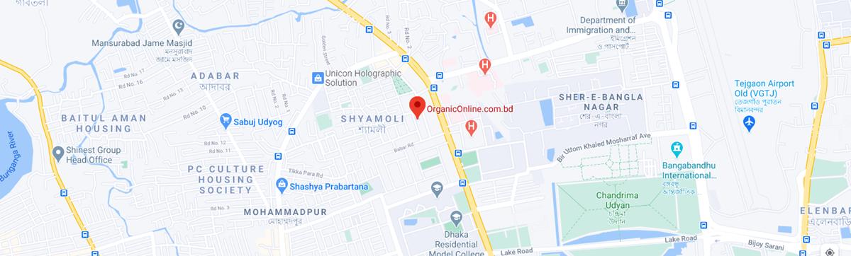 google map organic